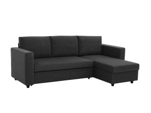 bäddbar 3 sits soffa med divan