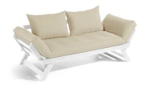 BeBop soffa – Ljusgrå/Beige