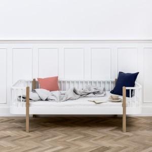 Wood Sofasäng - ek/vit