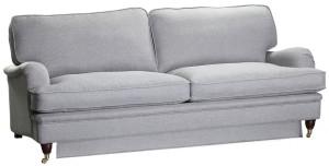 Howard bäddsoffa 2,5 sits grå