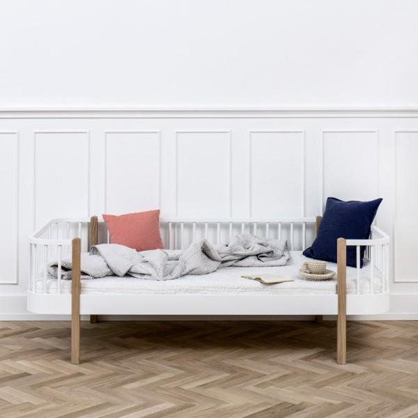 Wood Sofasäng – ek/vit